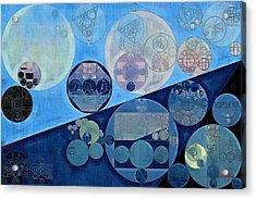 Abstract Painting - Calypso Acrylic Print by Vitaliy Gladkiy