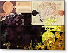 Abstract Painting - Chamois Acrylic Print by Vitaliy Gladkiy