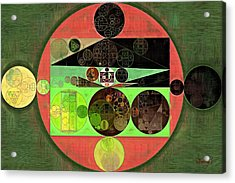 Abstract Painting - Conifer Acrylic Print by Vitaliy Gladkiy