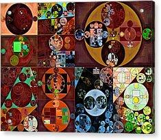 Abstract Painting - Desert Acrylic Print