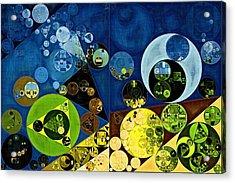 Abstract Painting - Goldenrod Acrylic Print by Vitaliy Gladkiy