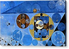 Abstract Painting - Husk Acrylic Print by Vitaliy Gladkiy
