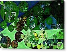 Abstract Painting - La Palma Acrylic Print by Vitaliy Gladkiy