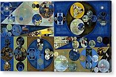 Abstract Painting - Laurel Green Acrylic Print by Vitaliy Gladkiy