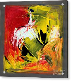 Abstract Painting Acrylic Print by Mario Zampedroni