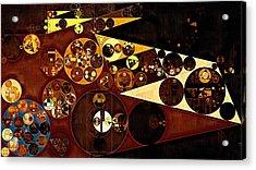Abstract Painting - Peru Tan Acrylic Print