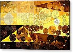 Abstract Painting - Portica Acrylic Print by Vitaliy Gladkiy