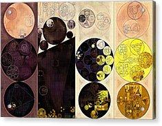 Abstract Painting - Potters Clay Acrylic Print by Vitaliy Gladkiy
