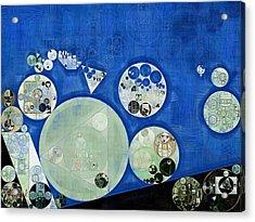Abstract Painting - Rainee Acrylic Print by Vitaliy Gladkiy