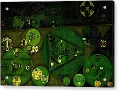 Abstract Painting - Rio Grande Acrylic Print by Vitaliy Gladkiy
