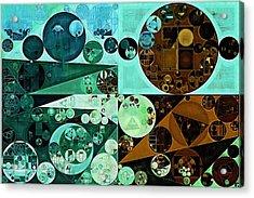 Abstract Painting - Riptide Acrylic Print by Vitaliy Gladkiy