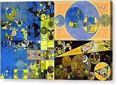 Abstract Painting - San Marino Acrylic Print by Vitaliy Gladkiy