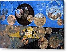 Abstract Painting - Sand Dune Acrylic Print by Vitaliy Gladkiy