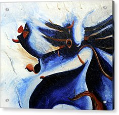 Abstract Painting  Acrylic Print by Shweta Singh