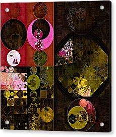 Abstract Painting - Tonys Pink Acrylic Print by Vitaliy Gladkiy