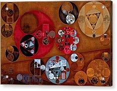 Abstract Painting - Zorba Acrylic Print by Vitaliy Gladkiy