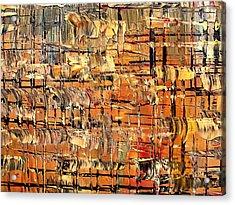 Abstract Part By Rafi Talby Acrylic Print by Rafi Talby