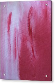 Abstract Pink Acrylic Print