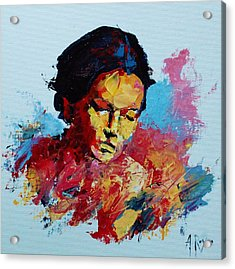 Abstract Portrait Acrylic Print
