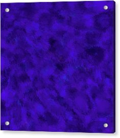 Acrylic Print featuring the photograph Abstract Purple 7 by Clare Bambers