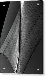 Acrylic Print featuring the photograph Abstract Sailcloth 199 by Bob Orsillo