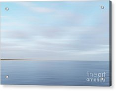 Acrylic Print featuring the photograph Abstract Seascape by Ivy Ho