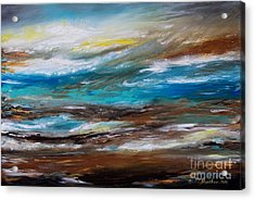 Abstract Seascape Acrylic Print