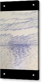 Abstract Seascape Acrylic Print