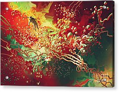 Abstract Space Acrylic Print