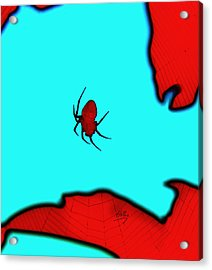 Abstract Spider Acrylic Print