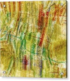 Acrylic Print featuring the digital art Abstract Sunday by Deborah Benoit