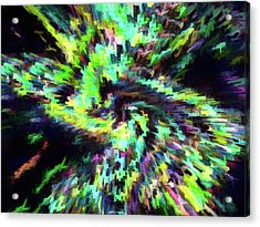 Abstract - Supernova Acrylic Print