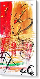 Abstract Thoughts  Acrylic Print by  Simone Fennell