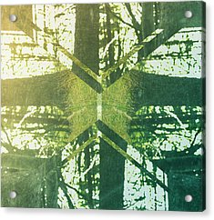 Abstract Trees Acrylic Print by Thubakabra