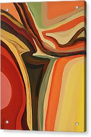 Abstract Vase Acrylic Print
