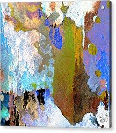 Abstract Wash 1 Acrylic Print