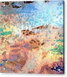 Abstract Wash 2 Acrylic Print