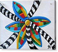 Abstract Windmill  Acrylic Print