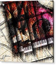 Abstracta_18 Opus I A Acrylic Print by Gary Bodnar