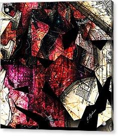 Abstracta_21 Stratavari Moderna Acrylic Print by Gary Bodnar