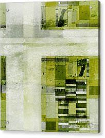 Acrylic Print featuring the digital art Abstractitude - C4bv2 by Variance Collections