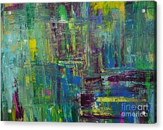 Abstract_untitled Acrylic Print