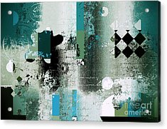Abstracture - 21pp8bb Acrylic Print by Variance Collections