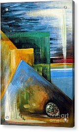 Abstrct And A Plover Egg Acrylic Print