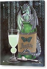 Absinthe Dragon Acrylic Print
