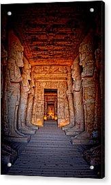 Abu Simbel Great Temple Acrylic Print