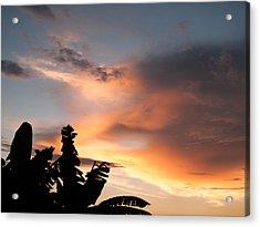 Abuja Sunset Acrylic Print by Hakon Soreide