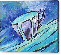 Abundance - My Cup Runneth Over Acrylic Print