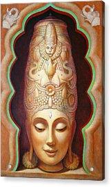 Abundance Meditation Acrylic Print by Sue Halstenberg