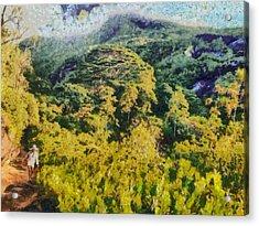 Abundant Greenery Acrylic Print